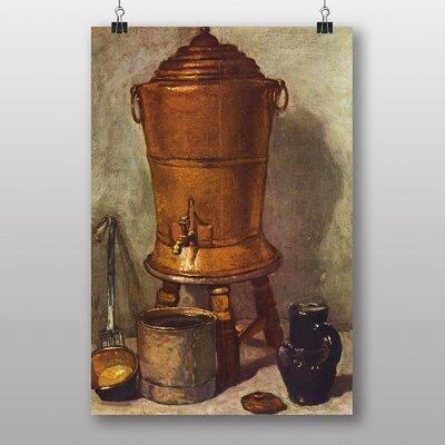 Big Box Art Still Life No.5 by Jean Chardin Art Print