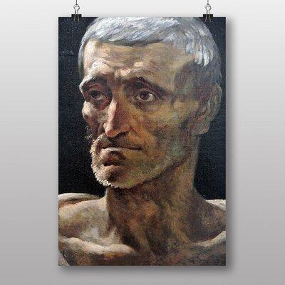 "Big Box Art ""Shipwrecked Man"" by Gericault Theodore Art Print"