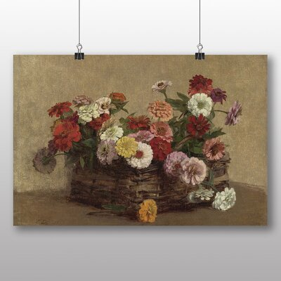 Big Box Art 'Summer Flowers No.1' by Henri Fantin-Latour Art Print