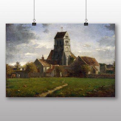 Big Box Art 'Church' by Jean Francois Millet Art Print