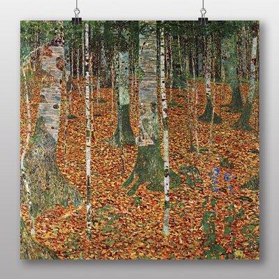 Big Box Art 'Birch Forest' by Gustav Klimt Art Print