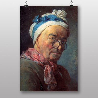 "Big Box Art ""Self Portrait"" by Jean Chardin Art Print"