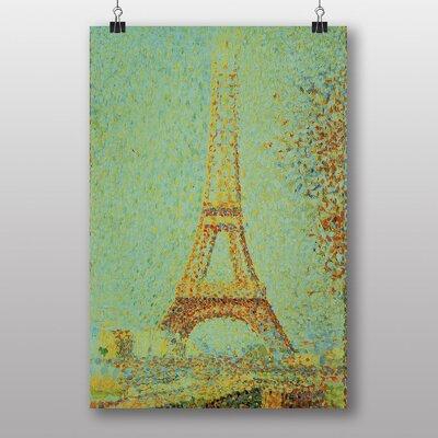 "Big Box Art ""Eiffel Tower Paris"" by Georges-Pierre Seurat Art Print"