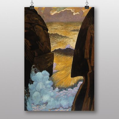 Big Box Art The Wave by Georges Lacombe Art Print