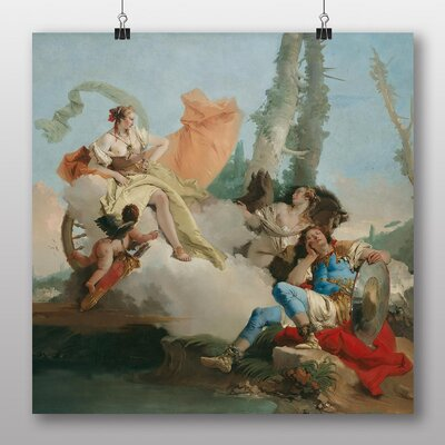 Big Box Art 'Rinaldo Enchanted by Armida' by Giovanni Battista Tiepolo Art Print