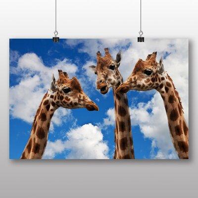 Big Box Art Giraffes No.3 Photographic Print