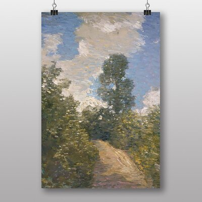 "Big Box Art ""Back Road"" by J. Alden Weir Art Print"