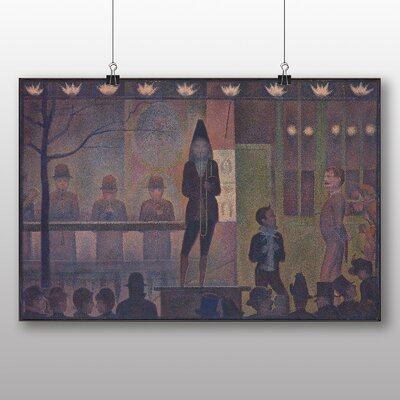 Big Box Art 'The Performer at the Circus' by Georges Pierre Seurat Art Print