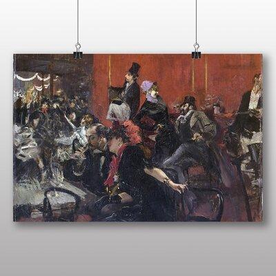 Big Box Art 'Scene de Fete' by Giovanni Boldini Art Print