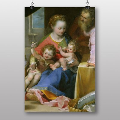 "Big Box Art ""The Madonna"" by Federico Barocci Art Print"