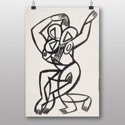 Big Box Art Dancer by Henry Gaudier-Brzeska Art Print