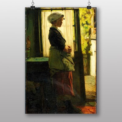 "Big Box Art ""Woman Oil"" by Jacob Maris Art Print"