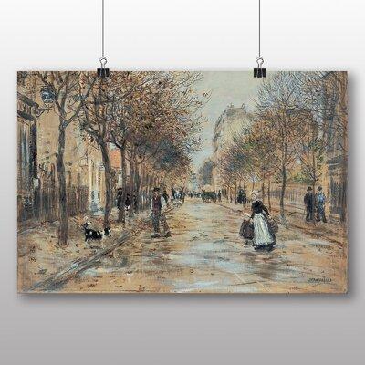 Big Box Art 'Street in Asniecres' by Jean Francois Raffaelli Art Print