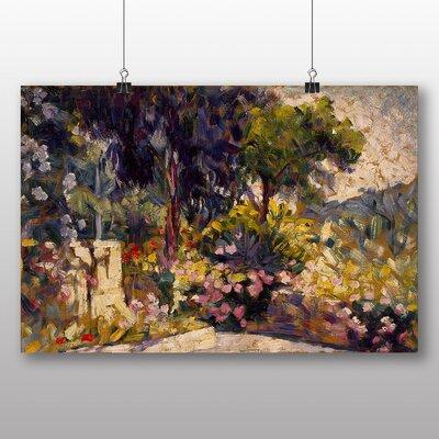 Big Box Art 'Flowered Terrace' by Henri Edmond Cross Art Print