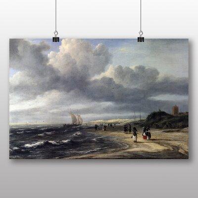 Big Box Art 'The Shore at Egmond' by Jacob Ruisdael Art Print