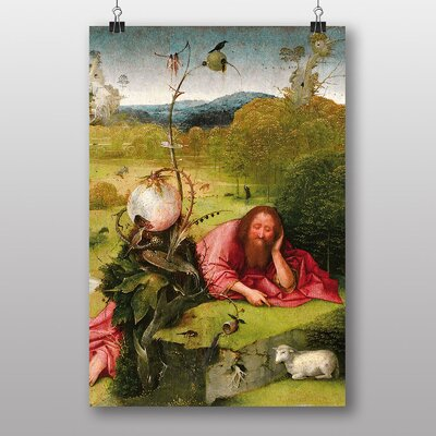 Big Box Art Hieronymous Bosch John the Baptist Art Print