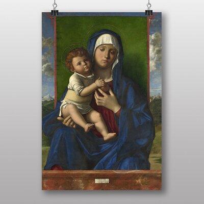 "Big Box Art ""Madonna and Child No.1"" by Giovanni Bellini Art Print"