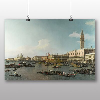 Big Box Art 'Ascension Day' by Giovanni Canaletto Art Print