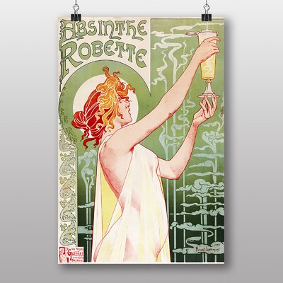 Big Box Art Absinthe by Henri Privat-Livemont Art Print