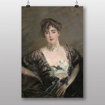 "Big Box Art ""Portrait of Josefina Errazuriz"" by Giovanni Boldini Art Print"