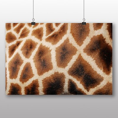Big Box Art Giraffe Skin Photographic Print