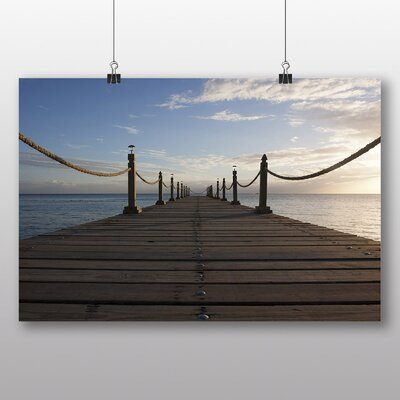 Big Box Art 'Jetty Landing Stage' Photographic Print