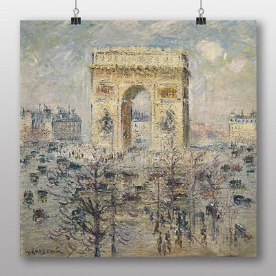 Big Box Art The Place De L'Etoile No.1' by Gustave Loiseau Art Print
