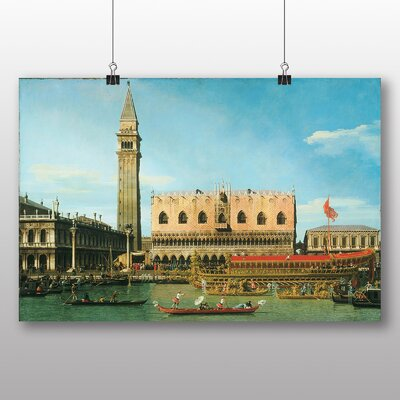 Big Box Art 'The Bucintoro, Ascension Day' by Giovanni Canaletto Art Print