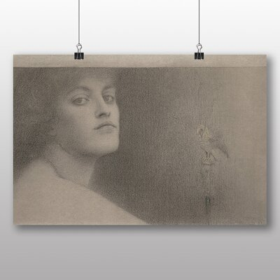 Big Box Art 'Study for the Offering' by Fernand Khnopff Art Print