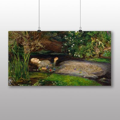 Big Box Art Millais Ophelia' by John Everett Millais Art Print
