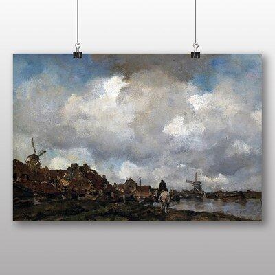 Big Box Art 'Village Near Schiedam' by Jacob Maris Art Print