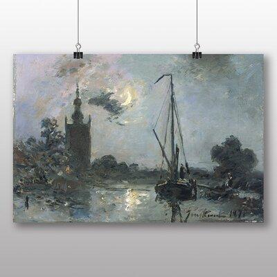 Big Box Art 'Moonshine' by Johan Jongkind Art Print
