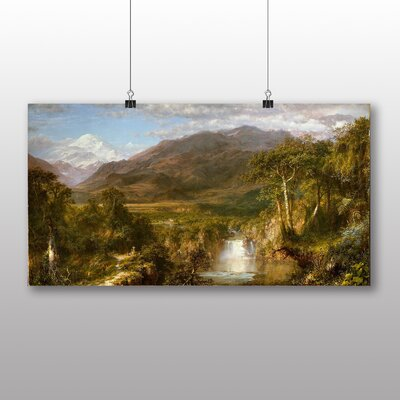 Big Box Art Heart of the Andes' by Frederic Edwin Church Art Print