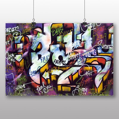 Big Box Art Graffiti Graphic Art