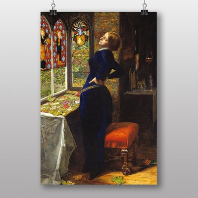 "Big Box Art ""Mariana"" by John Everett Millais Art Print"