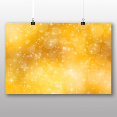 Big Box Art Blurred Fairy Lights Abstract No.3 Graphic Art