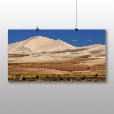 Big Box Art Gobi desert Mongolia No.2 Photographic Print