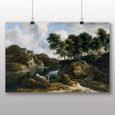 Big Box Art 'River Landscape' by Jacob Ruisdael Art Print