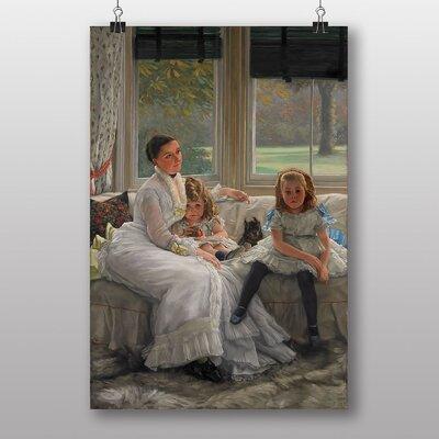 "Big Box Art ""Mrs Catherine Smith"" by James Tissot Art Print"