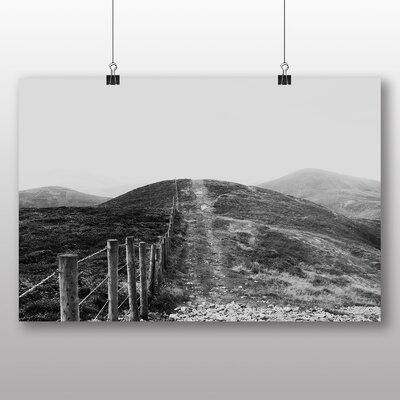 Big Box Art Hill Fence Photographic Print on Canvas