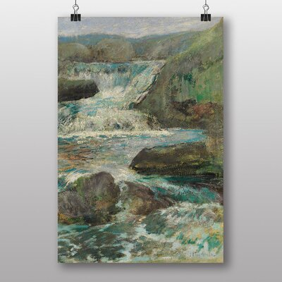 "Big Box Art ""Waterfall No.2"" by John Henry Twachtman Art Print"