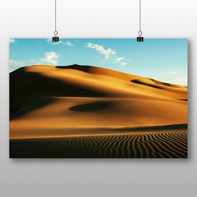 Big Box Art Gobi Desert Mongolia Photographic Print