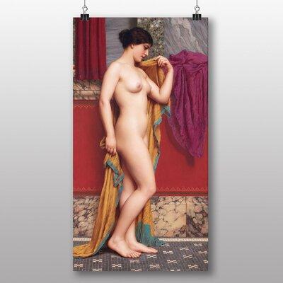 Big Box Art 'In the Tepidarium' by John William Godward Art Print