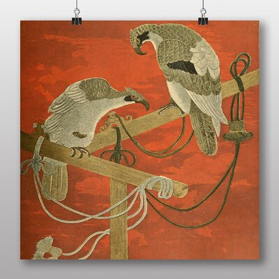 Big Box Art Fukusa Birds Japanese Oriental Graphic Art