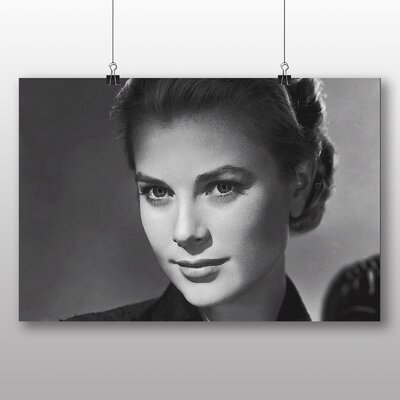Big Box Art Grace Kelly Photographic Print Wrapped on Canvas