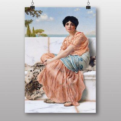 Big Box Art In the Days of the Sappho by John William Godward Art Print