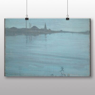 Big Box Art 'Nocturne in Blue and Silver' by James McNeill Whistler Art Print