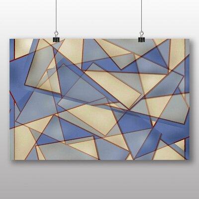 Big Box Art Geometric Abstract No.3 Graphic Art on Canvas