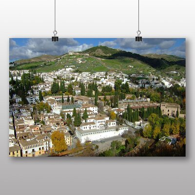 Big Box Art Granada Andalusia Spain Photographic Print on Canvas