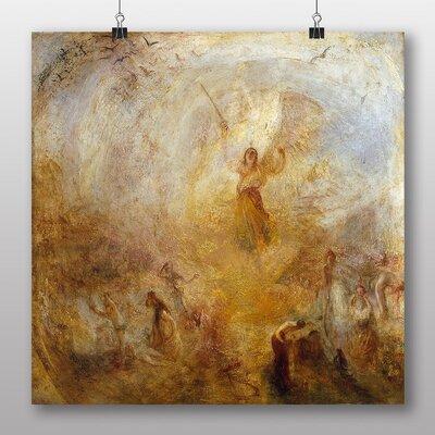 Big Box Art 'Angel Standing in the Sun' by Joseph Mallord William Turner Art Print